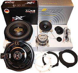 BMW Upgrade Kit Комплект акустики ETON+AUDIO SYSTEM AX 08 FL